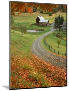 Sleepy Hollow Farm, Woodstock, VT by Charles Benes