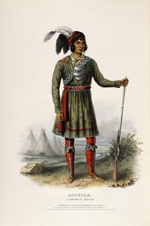 Asseola, a Seminole Leader, 1844