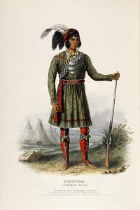 Asseola, a Seminole Leader, 1844 by Charles Bird King
