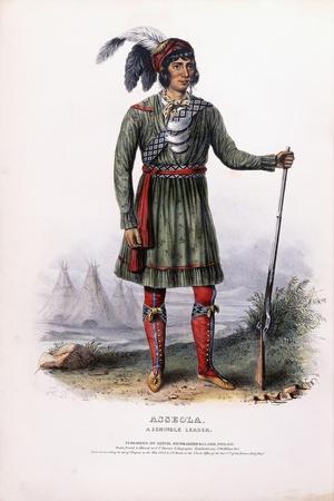 Asseola, a Seminole Leader, C.1837-1844