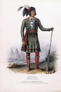 Asseola, a Seminole Leader, C.1837-1844 by Charles Bird King