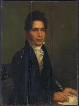 John Ridge, Cherokee Chief, 1825
