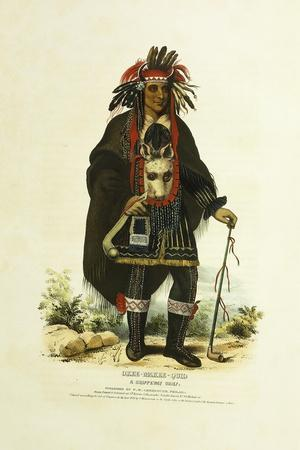 Okee-Makee-Quid, a Chippeway Chief, 1842-1844