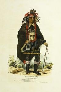 Okee-Makee-Quid, a Chippeway Chief, 1842-1844 by Charles Bird King