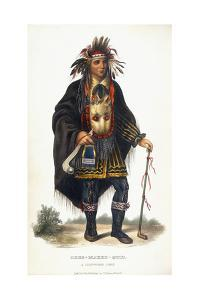 Okee-Makee-Quid, a Chippeway Chief, 1854 by Charles Bird King