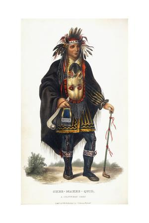 Okee-Makee-Quid, a Chippeway Chief, 1854