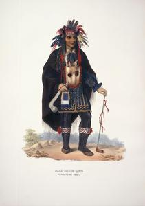 Okee-Makee-Quid, after 1875 by Charles Bird King