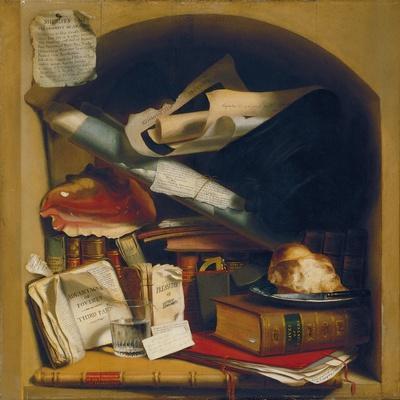 Poor Artist's Cupboard, c.1815