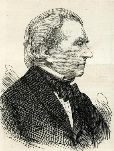Charles Blacker Vignoles (1793-1875) from 'The Illustrated London News' 1875--Giclee Print