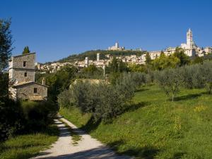 Assisi, UNESCO World Heritage Site, Umbria, Italy, Europe by Charles Bowman