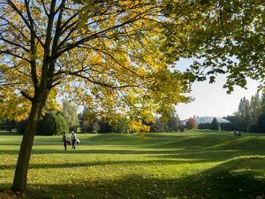 Autumn Golf by Charles Bowman