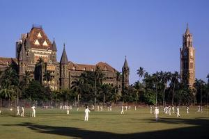 Bombay Maidan by Charles Bowman