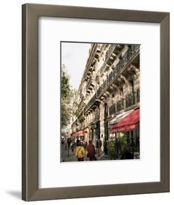 Boulevard St. Michel, Paris, France by Charles Bowman