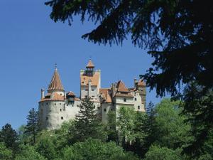 Bran Castle, Transylvania, Romania, Europe by Charles Bowman