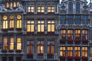Brussels Grand Place 1 by Charles Bowman