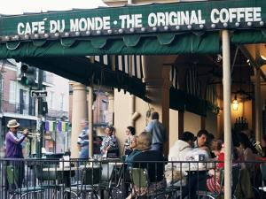 Cafe Du Monde, New Orleans, Louisiana, USA by Charles Bowman