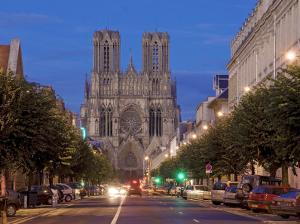 Cathedral of Notre Dame, Unesco World Heritage Site, Reims, Haute Marne, France by Charles Bowman