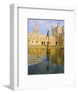 Christchurch College, Oxford, England by Charles Bowman