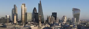 City Panorama from St. Pauls, London, England, United Kingdom by Charles Bowman