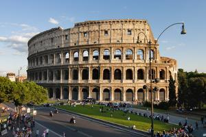 Colosseum Rome by Charles Bowman