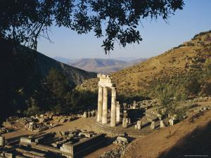 Delphi, Sanctuary of Athena, Greece, Europe by Charles Bowman
