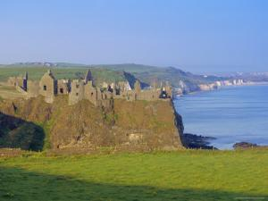 Dunluce Castle, County Antrim, Northern Ireland, UK, Europe by Charles Bowman