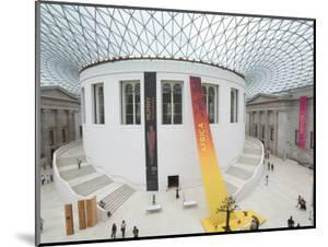 Great Court, British Museum, London, England, United Kingdom by Charles Bowman