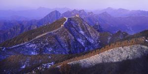 Great Wall Of China Winter by Charles Bowman