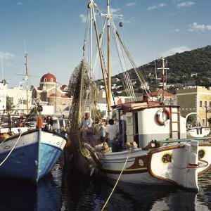 Greece Leros by Charles Bowman