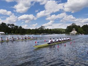 Henley Regatta, Henley-On-Thames, Oxfordshire, England, United Kingdom by Charles Bowman