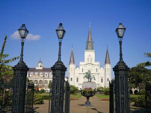 Jackson Square, New Orleans, Louisiana, USA by Charles Bowman