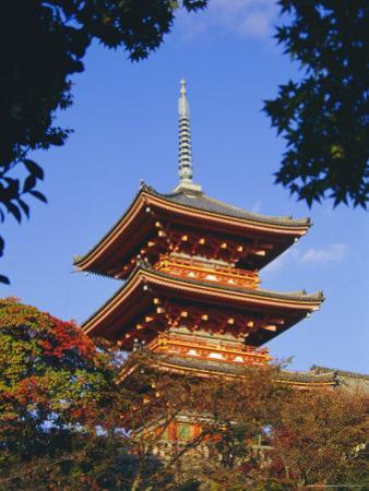 Kiyomizu Temple, Kyoto, Japan by Charles Bowman