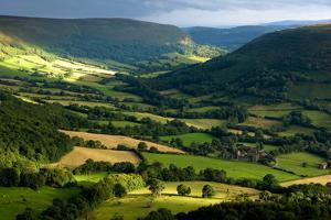 landscape Wales by Charles Bowman