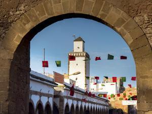 Medina Street Scene, Essaouira, Morocco, North Africa, Africa by Charles Bowman