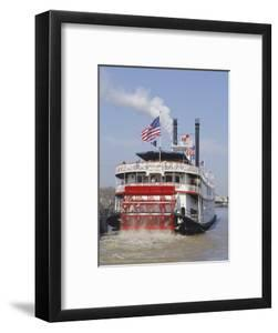 Mississippi Steam Boat, New Orleans, Louisiana, USA by Charles Bowman