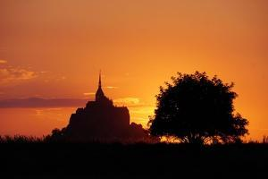 Mont St Michel by Charles Bowman