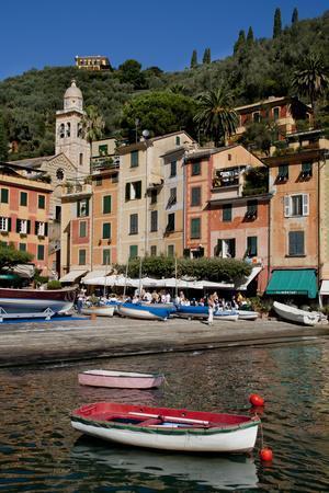 Portofino harbour Liguria Italy