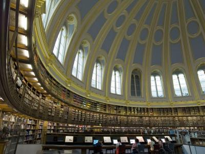 Reading Room, British Museum, London, England, United Kingdom by Charles Bowman