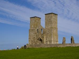 Reculver Towers, Herne Bay, Kent, England, United Kingdom, Europe by Charles Bowman