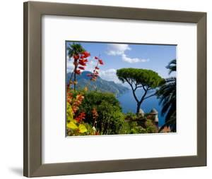 Rufolo View, Ravello, Amalfi Coast, UNESCO World Heritage Site, Campania, Italy, Europe by Charles Bowman