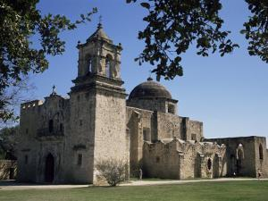 San Jose Mission, San Antonio, Texas, USA by Charles Bowman