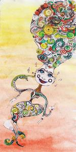 Smiley Genie by Charles Bowman
