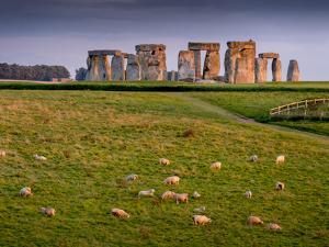 Stonehenge, UNESCO World Heritage Site, Salisbury Plain, Wiltshire, England, United Kingdom, Europe by Charles Bowman
