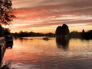 Thames Sunset 1 by Charles Bowman