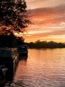 Thames Sunset 2 by Charles Bowman