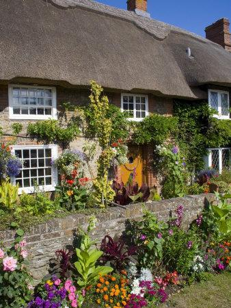 Thatched Cottage, Selsey, Sussex, England, United Kingdom