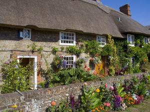 Thatched Cottage, Selsey, Sussex, England, United Kingdom by Charles Bowman