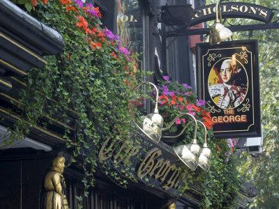 The George Pub, Strand, London, England, United Kingdom