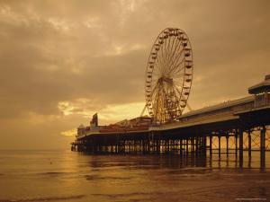 The Pier, Blackpool, Lancashire, England, UK, Europe by Charles Bowman