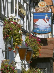 The Swan Pub, Walton on Thames, Surrey, England, United Kingdom by Charles Bowman